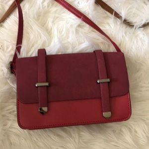 Handbags - Red mini crossbody bag